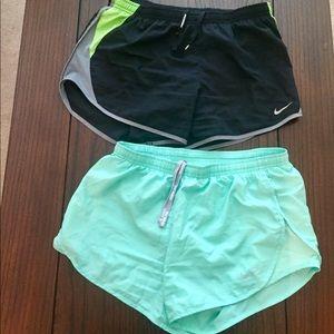 Nike tempo running shorts bundle